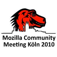 Logo des Treffens der deutschsprachigen Mozilla-Gemeinschaft 2010 in Köln